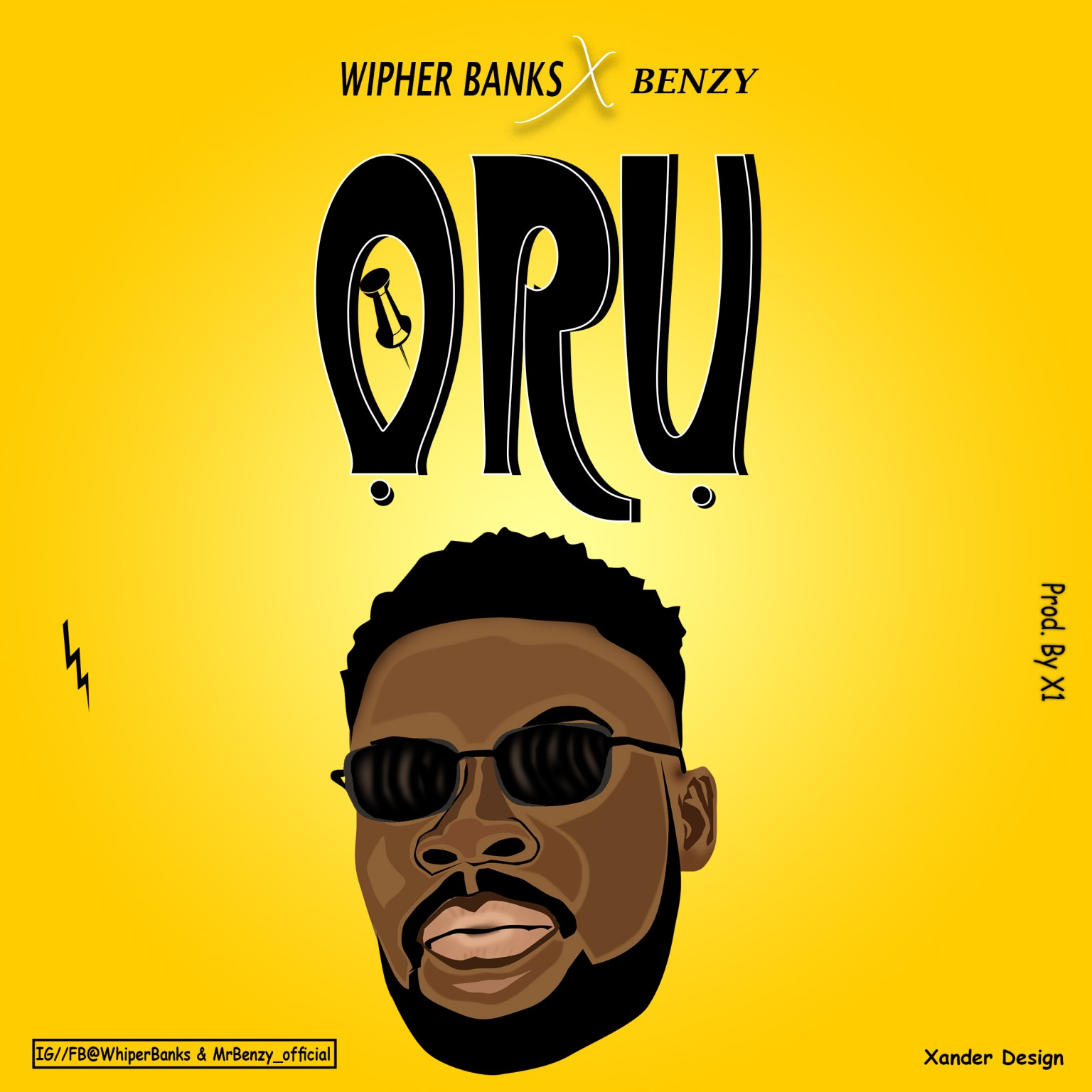 Music-Wipher-Ft-Benzy---Oru - I Love Instrumental